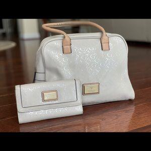 Guess handbag and wallet